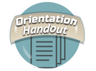 Orientation Handout